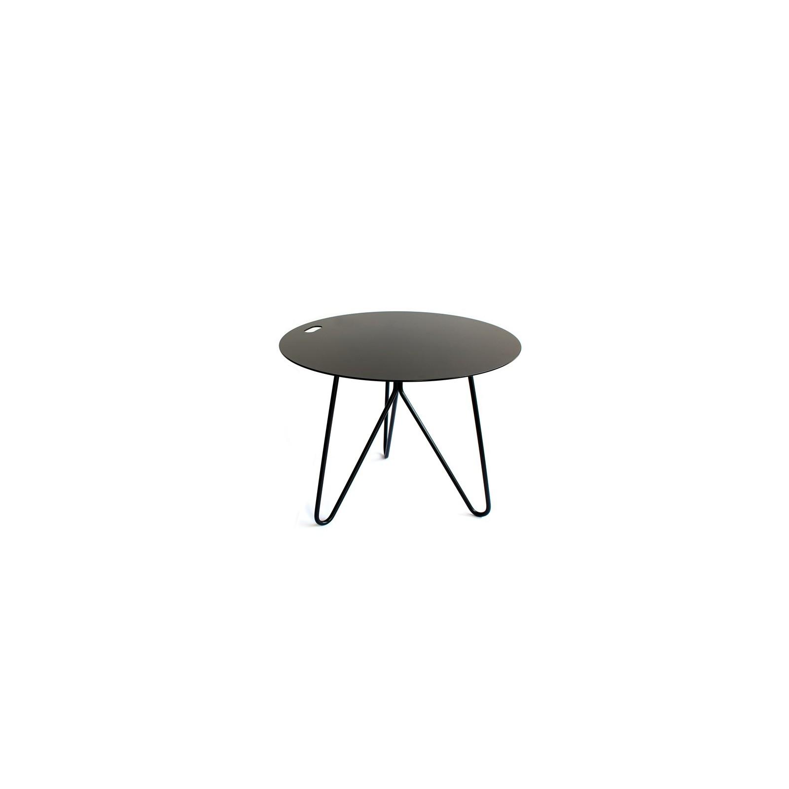 Table d 39 appoint seis noire arne concept - Table d appoint noire ...