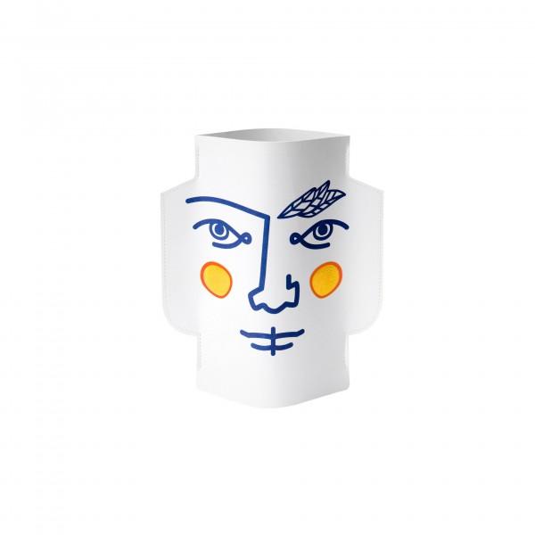 Vase en papier JANUS