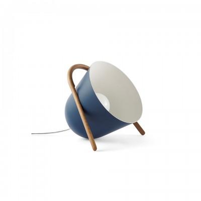 Lampe ELMA grand modele bleue