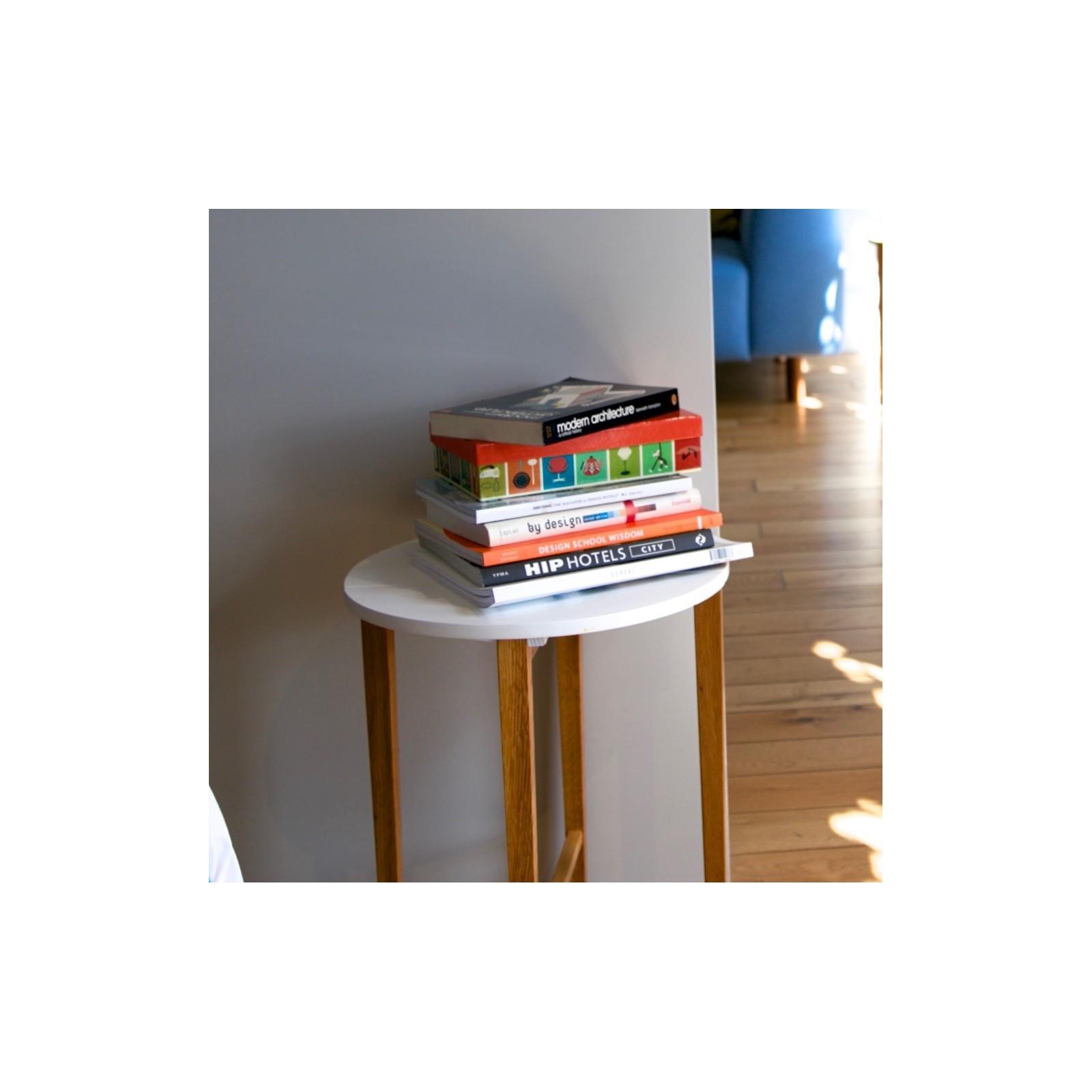 table pliante blanche arne concept. Black Bedroom Furniture Sets. Home Design Ideas