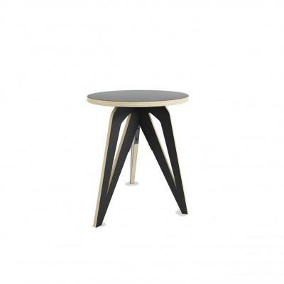 Table à Café Tripode Noire