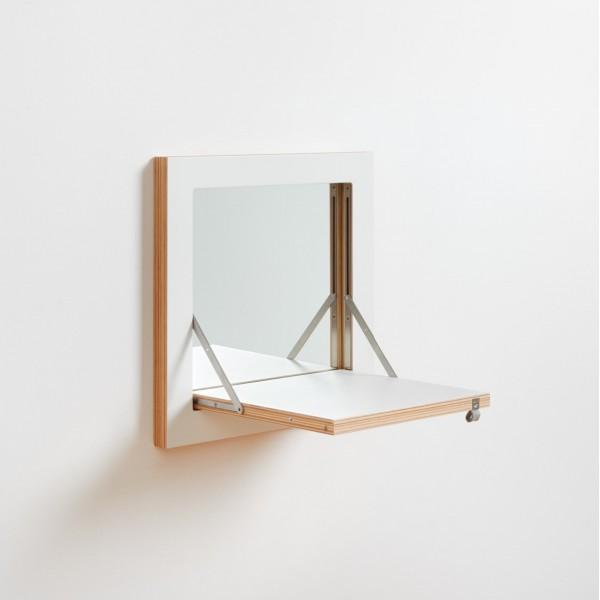 miroir feuille blanche arne concept
