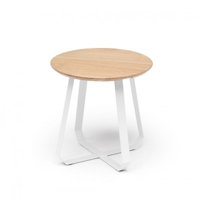 Table thé blanche
