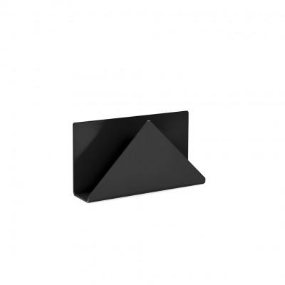 Porte-lettre noir
