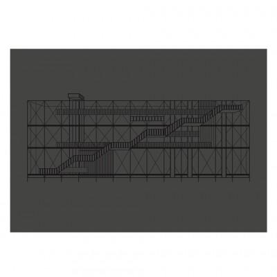 Pompidou noir