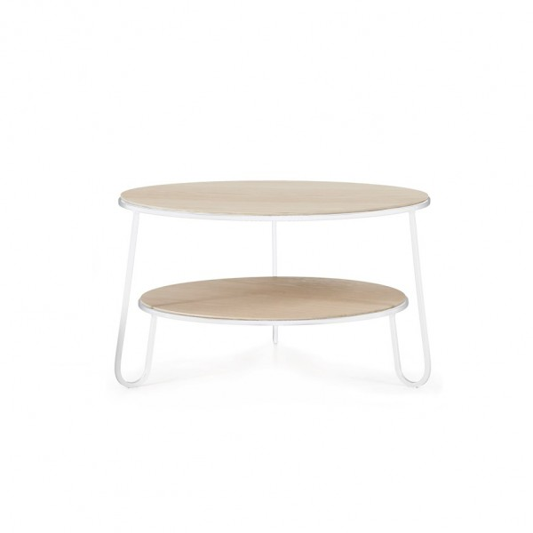 table basse eugenie blanche