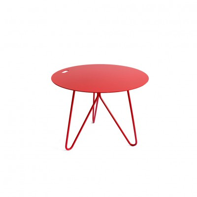 Table d'appoint SEIS Rouge