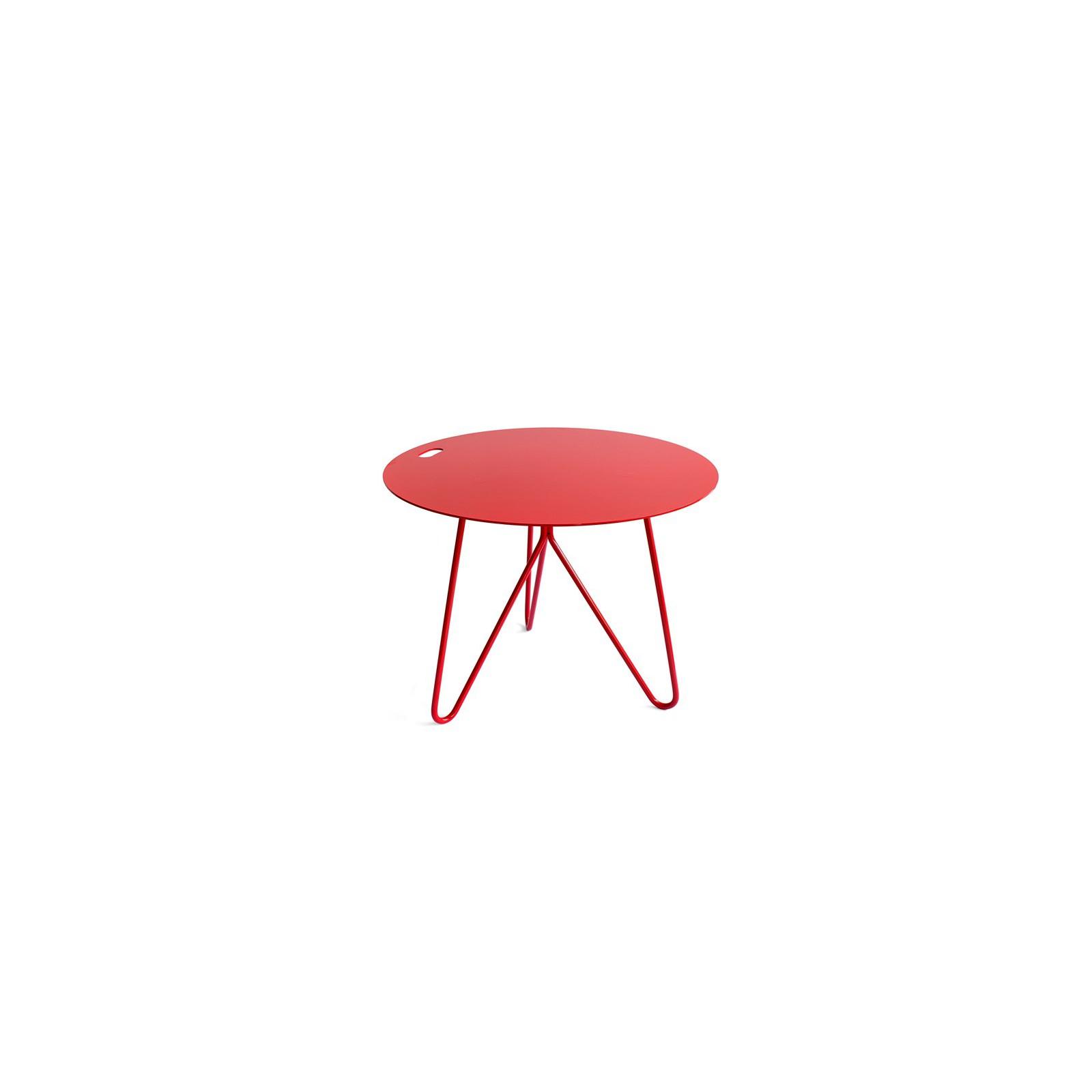 table d 39 appoint seis rouge arne concept. Black Bedroom Furniture Sets. Home Design Ideas