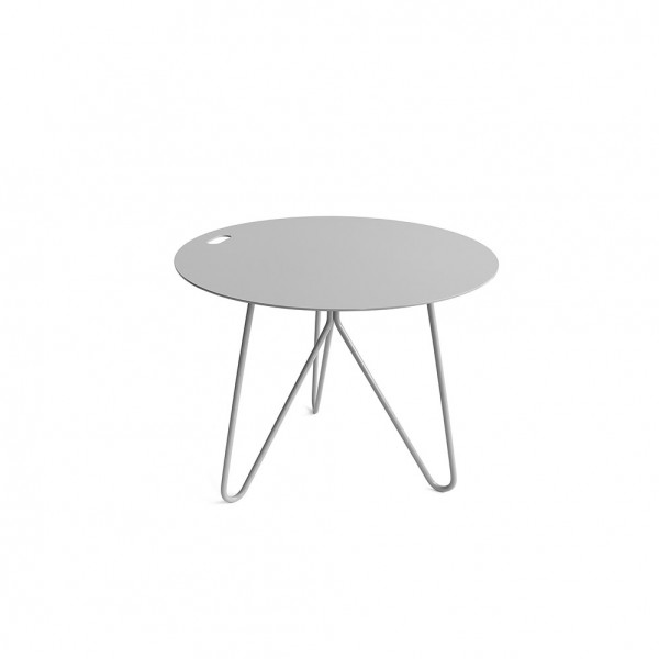 Table d'appoint SEIS grise