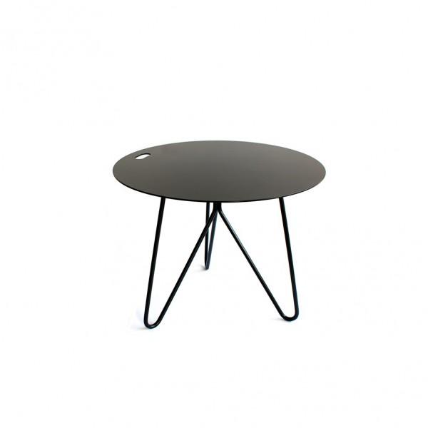 Table d'appoint SEIS noire