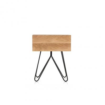 Table d'appoint/chevet NOVE Noire