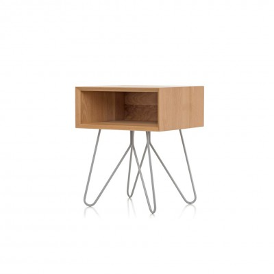 Table d'appoint/chevet NOVE Gris