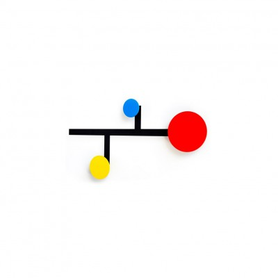 Patère Mondrian