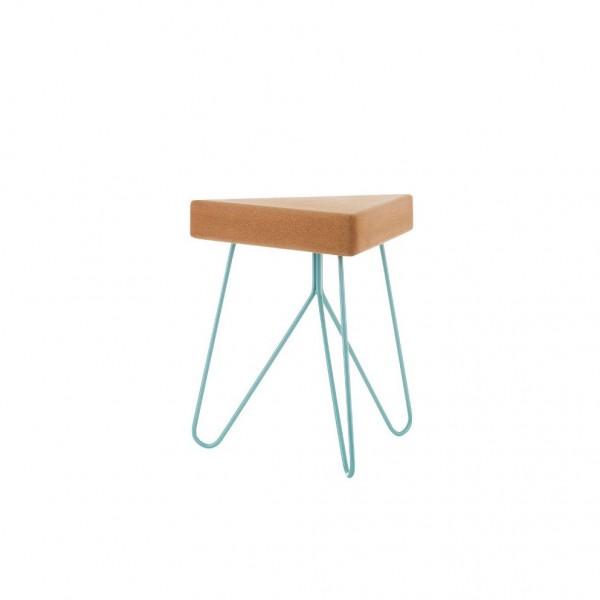 Table-tabouret Liege Bleu