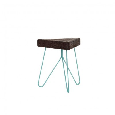 Table-tabouret Liege Bleu