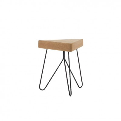 Table-tabouret Liege noir