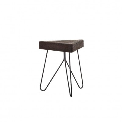Cork Table-Stool Black