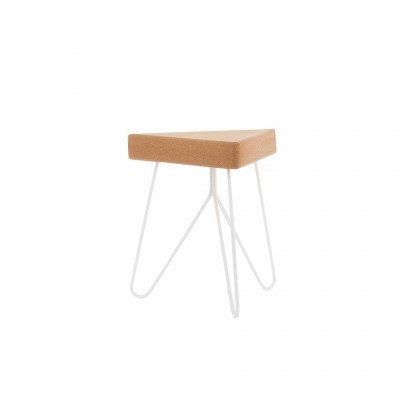 Table-tabouret Liege blanc