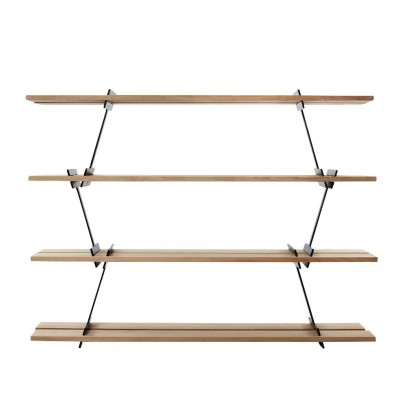 Black LUMBERJACK shelves