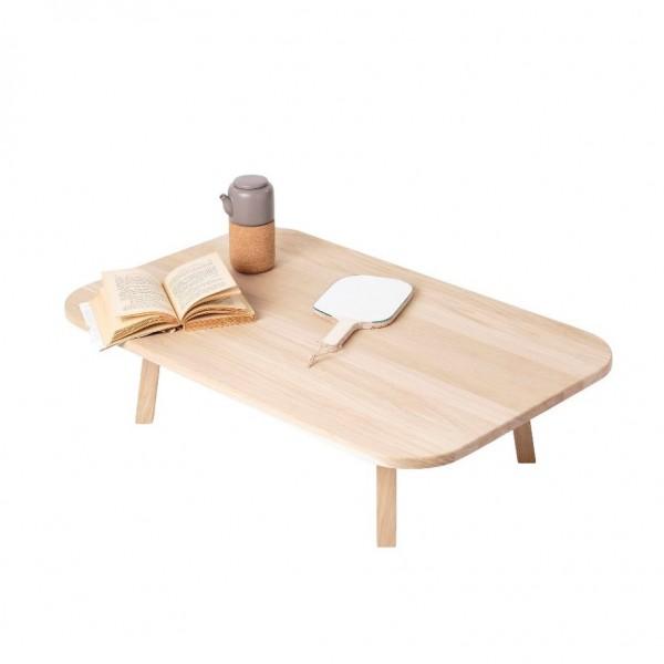 table pas-si-basse WOOMAR teintée