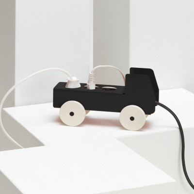 Power strip truck Black