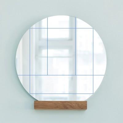 Miroir Zen Bleu