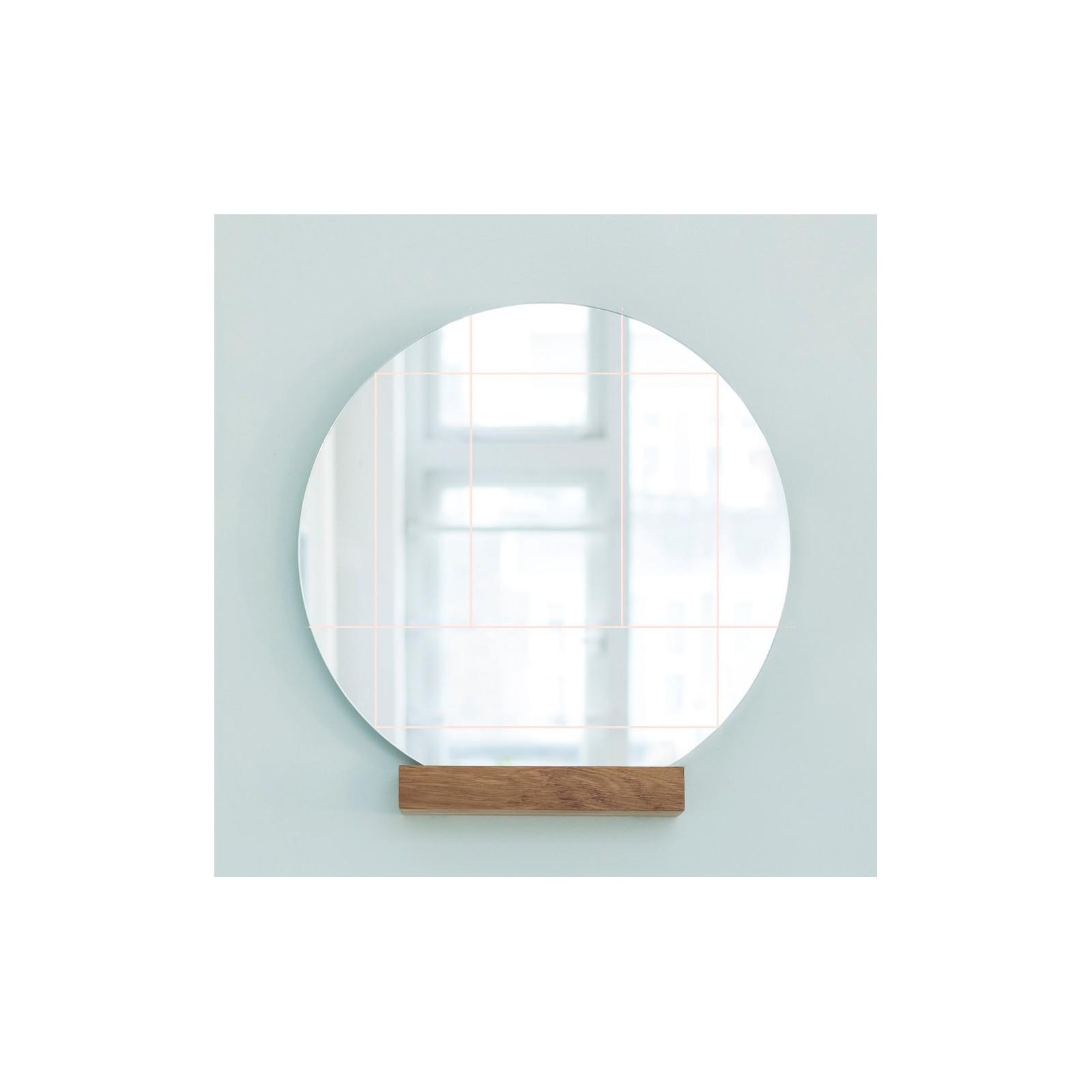 Miroir zen rose arne concept for Miroir concept beauport