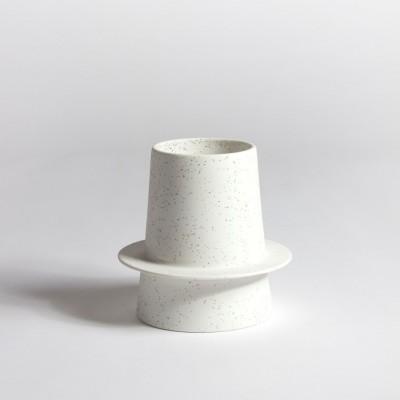 Vase anneau procelaine