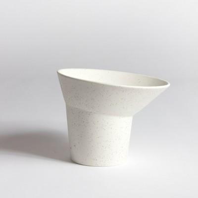 Vase col ouvert procelaine