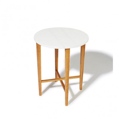 Table pliante blanche