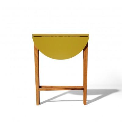 Folding Table mustard