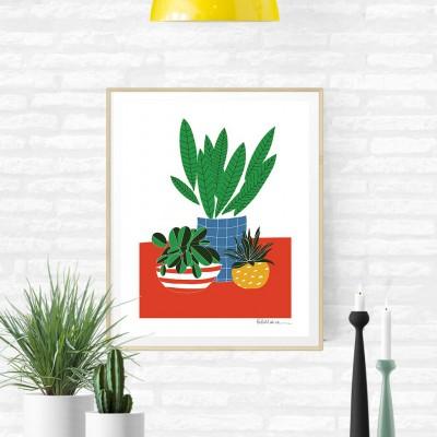 """Affiche """"Plants"""""""