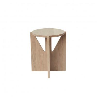 Beech side table