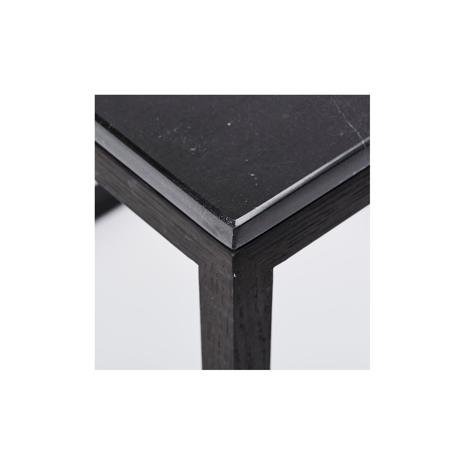 table basse cube et marbre noir arne concept. Black Bedroom Furniture Sets. Home Design Ideas