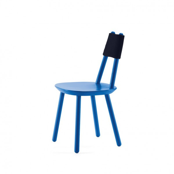 Chaise Bâton Bleue