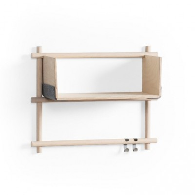 Horizontal Nordic shelve