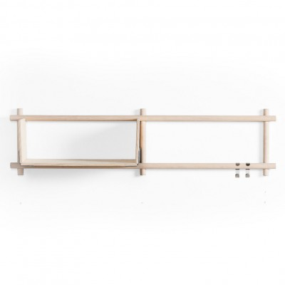 Vertical Nordic shelve