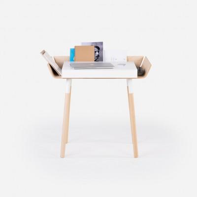 Petit Bureau Open Blanc