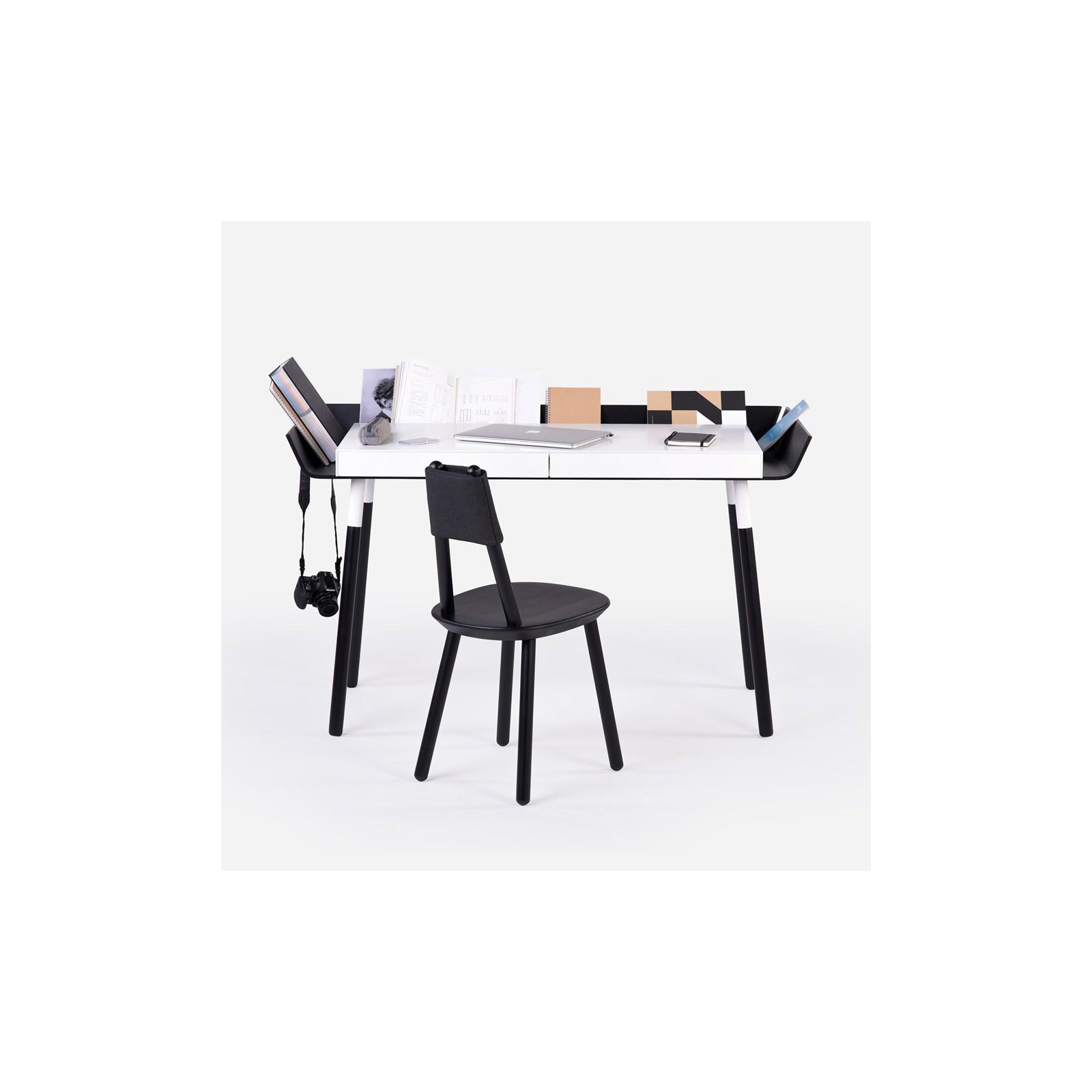 grand bureau open noir arne concept. Black Bedroom Furniture Sets. Home Design Ideas
