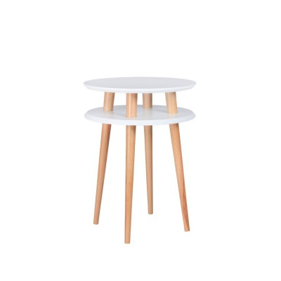 Table haute UFO Medium Blanc