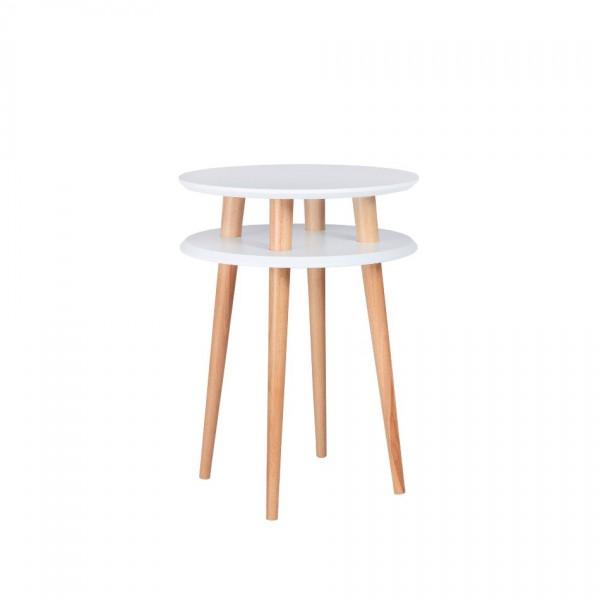 Table haute UFO Medium Blanc