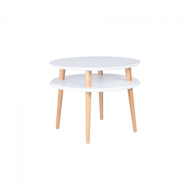 Table basse UFO Medium Blanc
