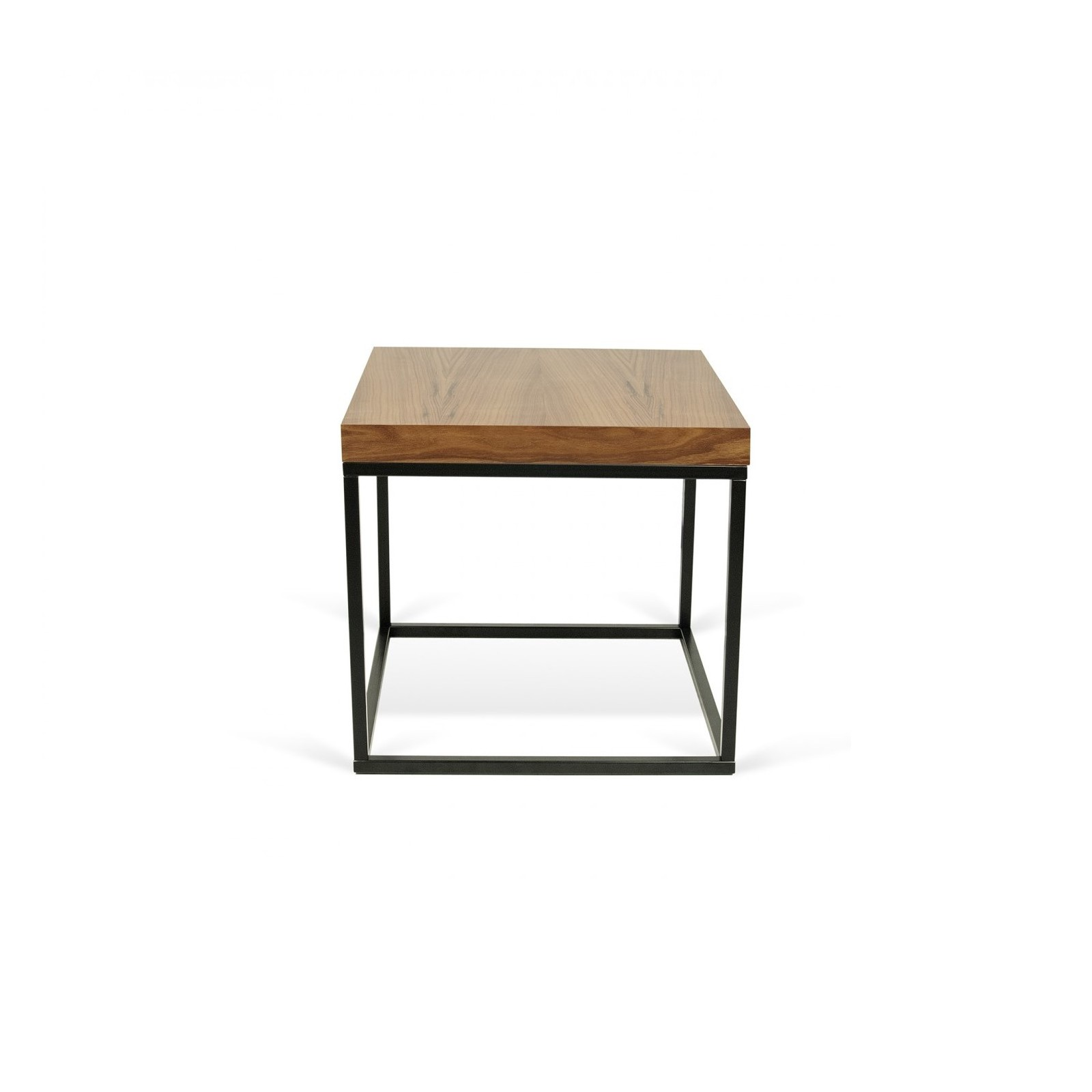 table basse cube noyer noir arne concept. Black Bedroom Furniture Sets. Home Design Ideas