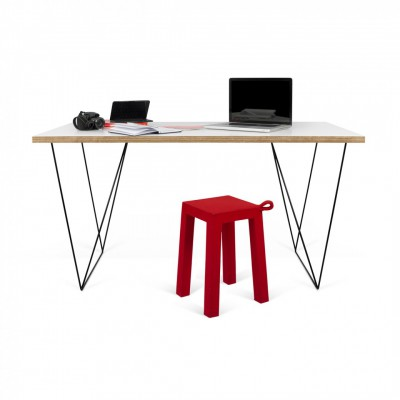 Table-bureau filiforme