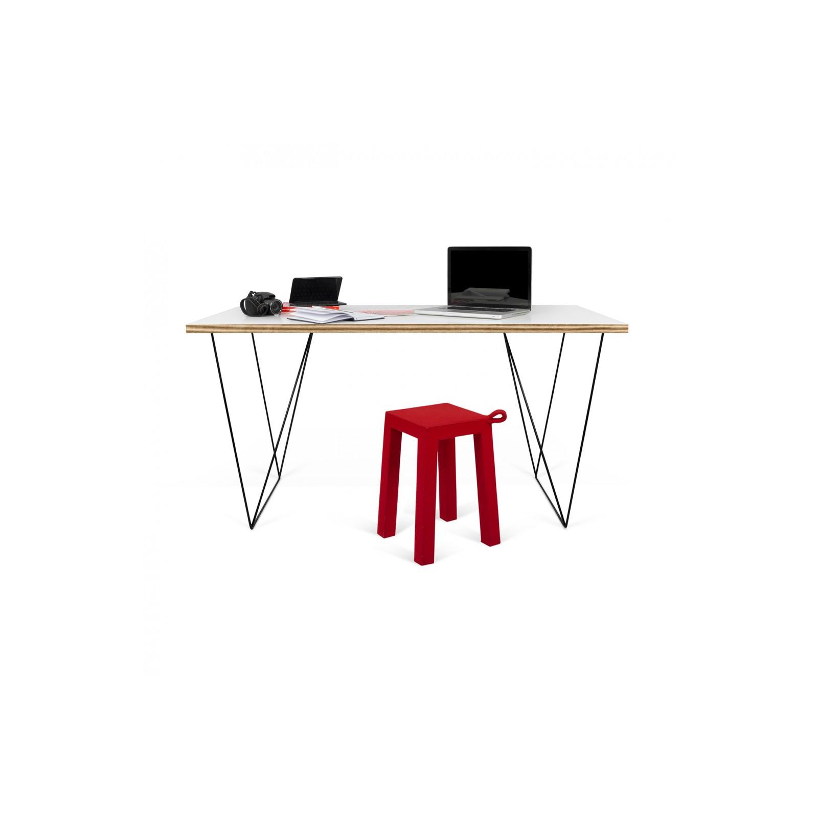 bureau filiforme blanc arne concept. Black Bedroom Furniture Sets. Home Design Ideas