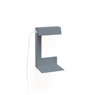 GREY READING LAMP