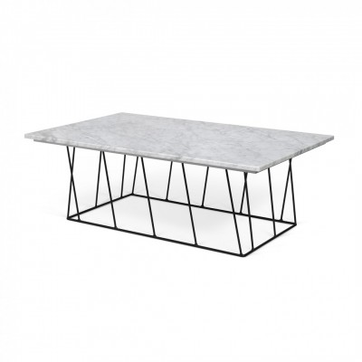 Table basse illusion marbre