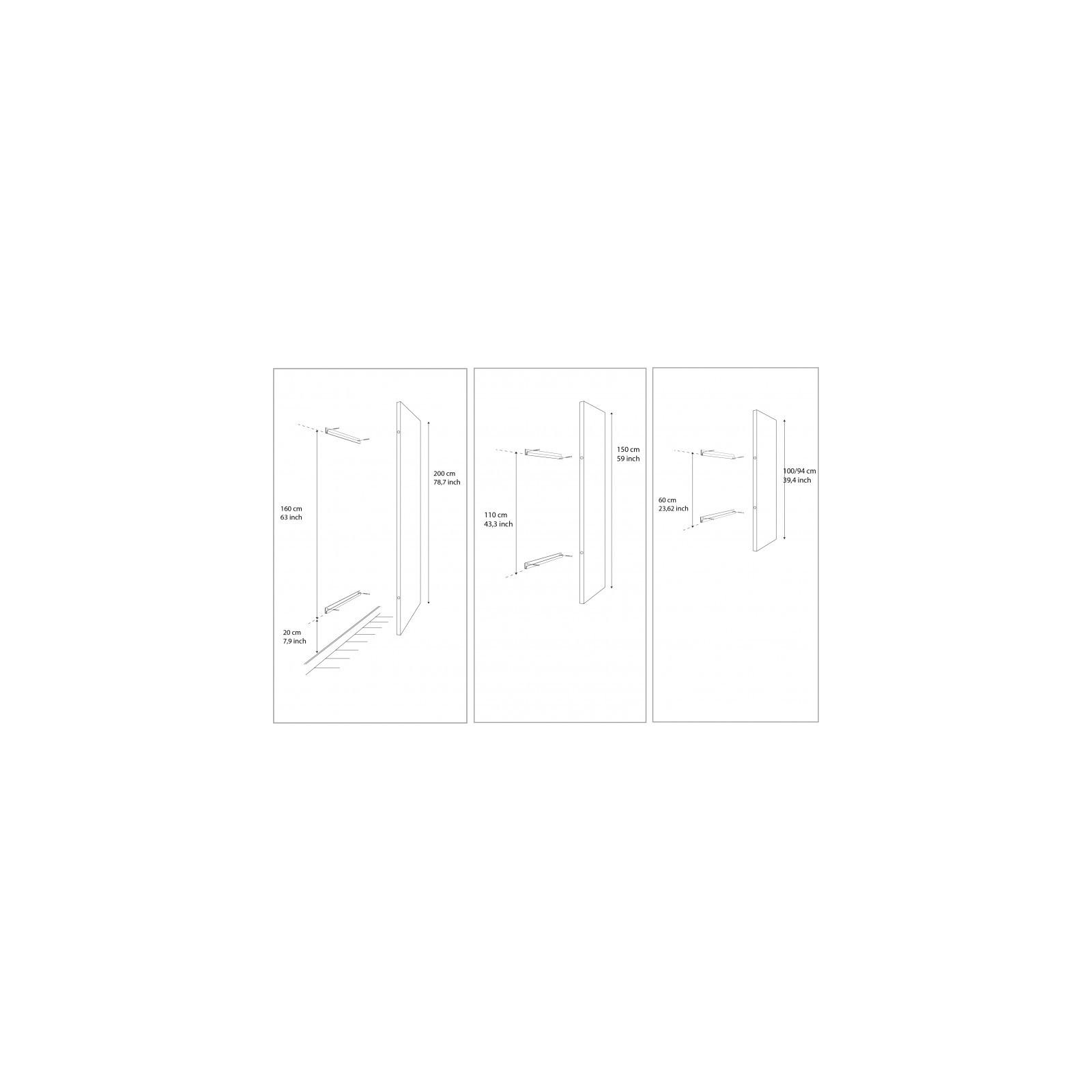 miroir d formant carr arne concept. Black Bedroom Furniture Sets. Home Design Ideas