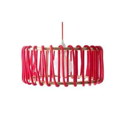 Red macaron lamp