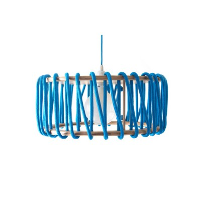 Suspension Cordelette Bleue